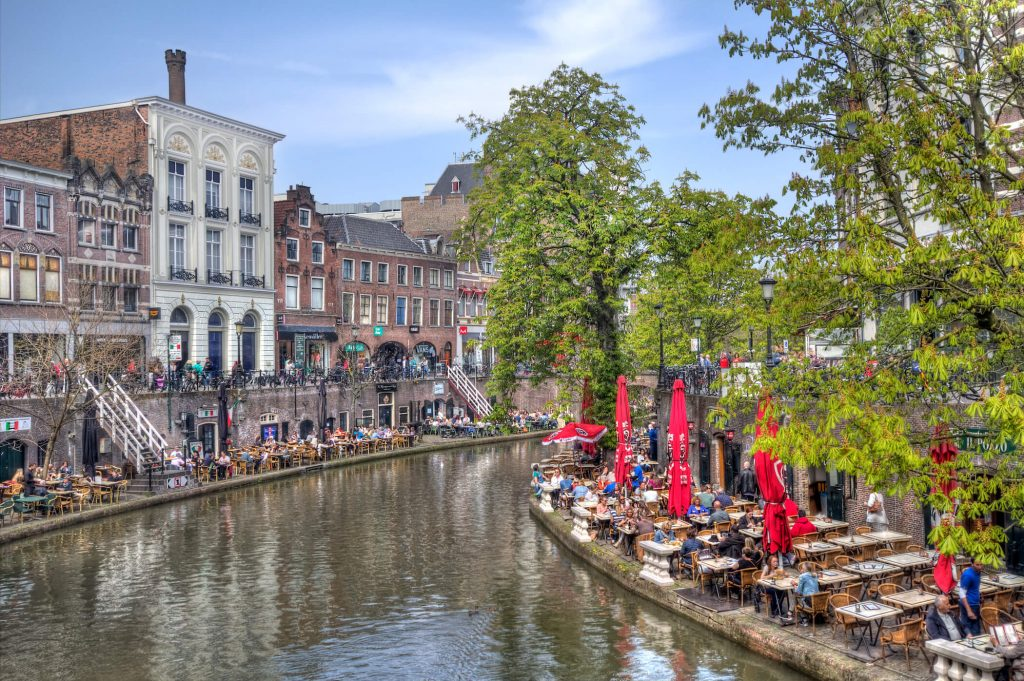 Moderne bruggen Utrecht